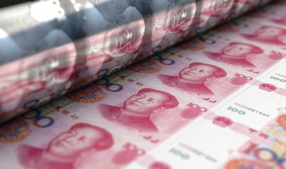 Printing Yuan Renminbi Notes