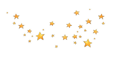 Collection of stars style sketch cartoon watercolor.
