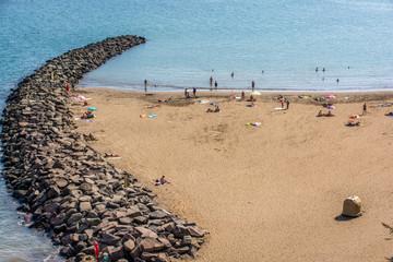 Strand von San Agustin auf Gran Canaria
