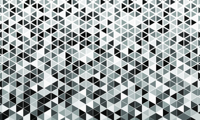 Poster Geometric vector seamless pattern, wallpaper hd