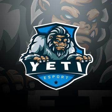 Yeti logo esport