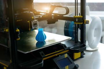 Fototapeta Modern 3d printer and filament obraz