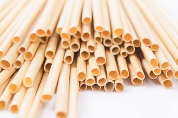 Fototapeta Wheat straw for drinking water. obraz