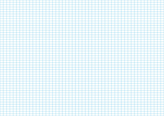 blue line of the graph paper illustration use for plot graph and background vector
