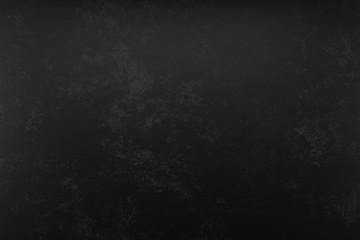 Photo studio portrait background. Painted scratch texture dark black, gray. 3D rendering