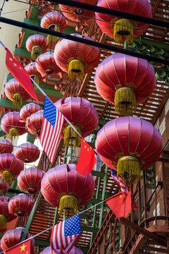 Chinese lanterns in San Francisco