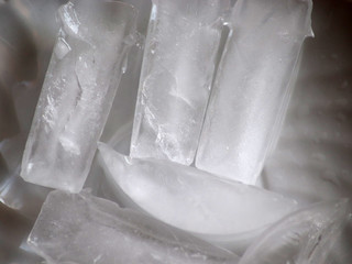 Amazing macro ice picture