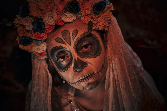 Day of dead celebration in Mexico