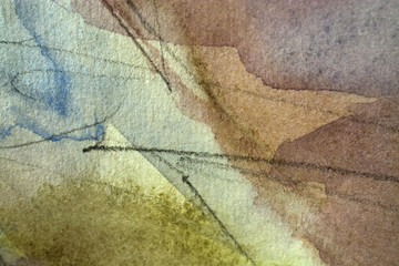 abstract watercolor stains grunge background
