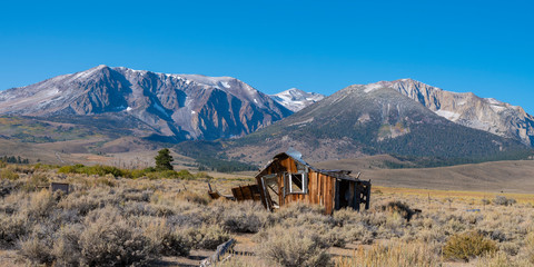 Abandoned Cabin, HIghway 395, Sierra Nevadas