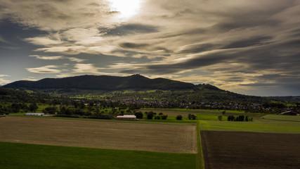Felder - Wald - Wiesen - Luftbild
