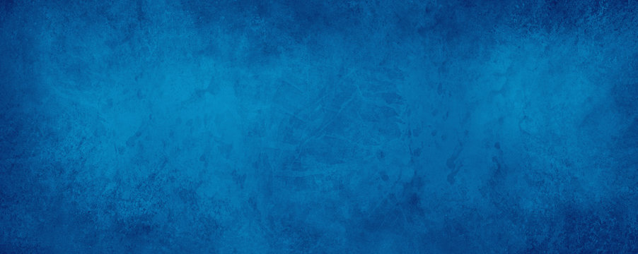 old blue paper background with marbled vintage texture in elegant website or textured paper design