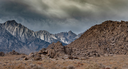 Mt. Whitney and Rocky Foothills