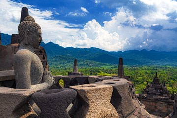 インドネシア・ボロブドゥール寺院遺跡群 8