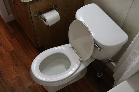 トイレ Beautiful toilet of a common Japanese house