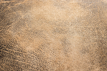 Close up brown leather texture background.