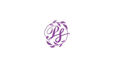 letter PS logo design inspirations