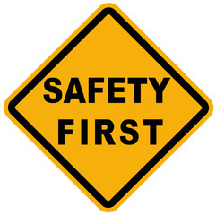 Safety flat icon for apps and websites