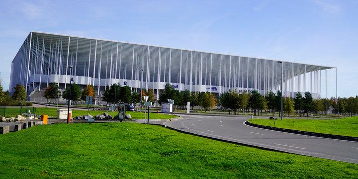 Stade Matmut Atlantique street view in Bordeaux city