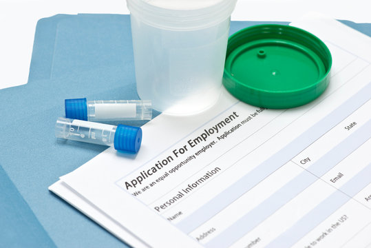 Job Application Drug Testing