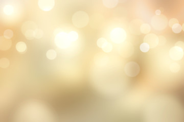 Elegant gold bokeh background