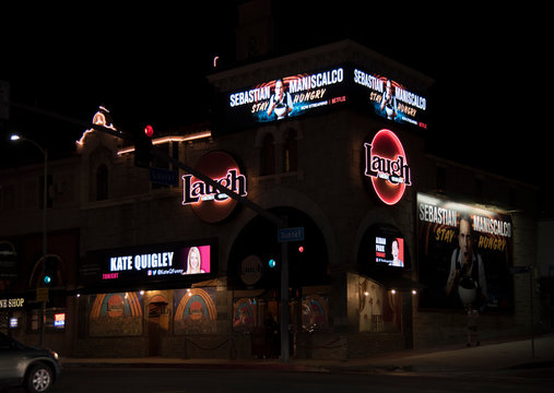Famous Laugh Factory on Sunset Strip November 12, 2018