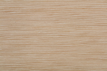 Elegant natural oak veneer background in light beige color. High quality wood texture.