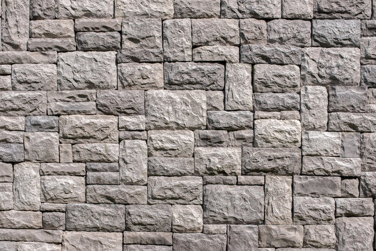 Seamless stone wall texture background. Material construction.