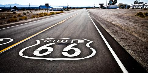 Aluminium Prints Route 66 Route 66