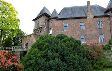 Burg Linn in Krefeld Oppun