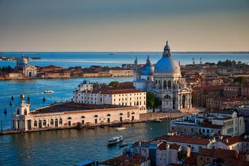 Poster Venetie Santa maria della salute Venice Italy