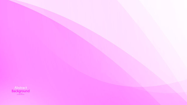 Pink tone color and white color background abstract art vector