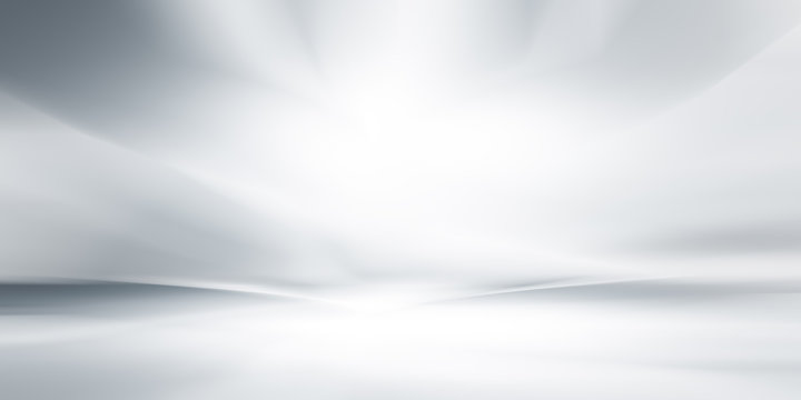 soft gray studio room background, grey floor backdrop with spotlight.