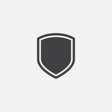Shield, guard icon vector, shield linear logo illustration, Shield Line Icon in trendy style, Shield icon vector, Safe and protect logo design icon