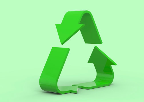 The Recycle Icon - 3D