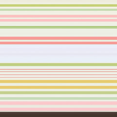 Refreshing stripes. Pink, yellow, yellow green