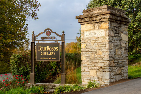 Entrance to Four Roses Distillery