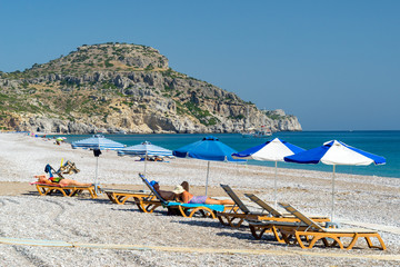 Afandou Beach Rhodes Greece