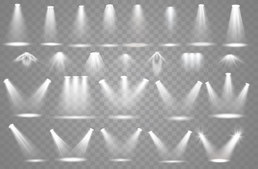 Spotlight light effect Fototapete