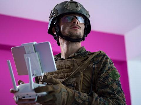 soldier drone technician