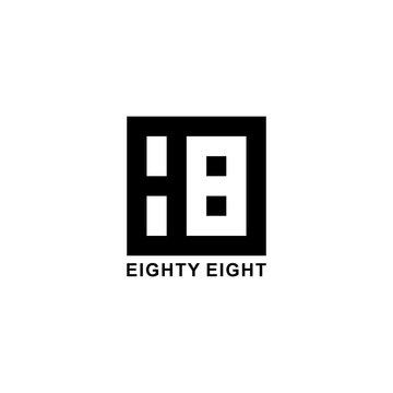 88 Eighty Eight Logo Design
