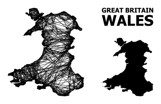 Network Map of Wales