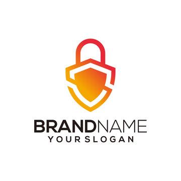 security logo design vector template