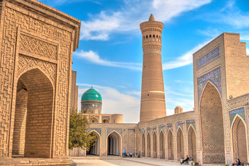Canvas Prints Morocco Kalan Mosque, Bukhara