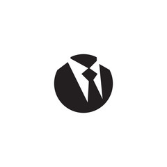 Tie logo icon design vector template