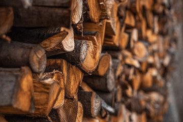Recess Fitting Firewood texture Legno