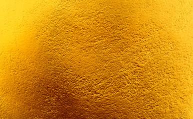 Old gold plaster walls