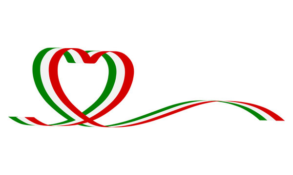 Nastro italia cuore