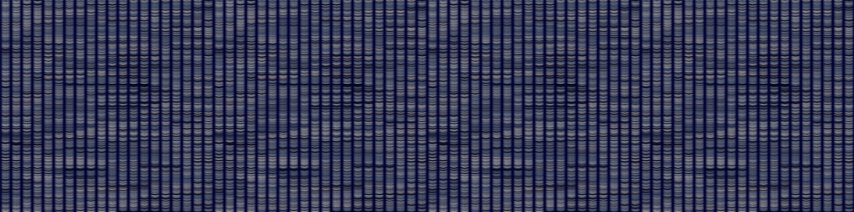 Vertical Stripe Variegated Texture Border Background. Denim Gray Blue Blended Line Seamless Pattern. Masculine Banner, Bleach Faded Dye Textile. For Trendy Triblend Melange Ribbon \trim Vector Eps 10
