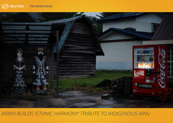 The Wider Image: Japan builds 'Ethnic Harmony' tribute to indigenous Ainu